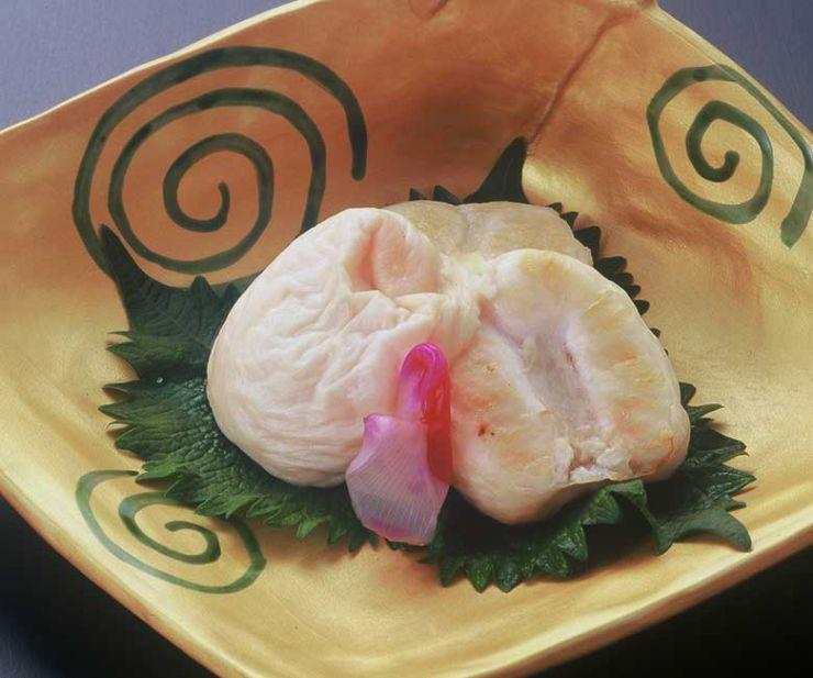 山口県 下関市のふぐの老舗 ふく処 喜多川 ふぐ一品料理 白子塩焼