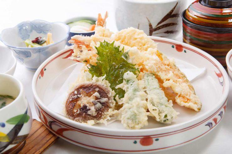 下関市のランチ | ふぐ処 喜多川の天ぷら御膳 | 天ぷら
