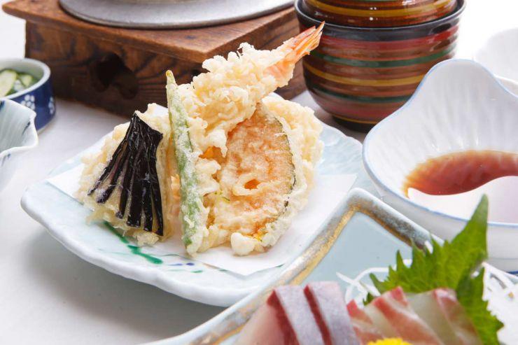 下関市のランチ | ふぐ処 喜多川のふぐ釜御膳 | 天ぷら