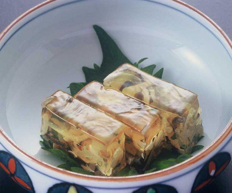 山口県 下関市のふぐの老舗 ふく処 喜多川 ふぐ一品料理 ふぐの煮こごり