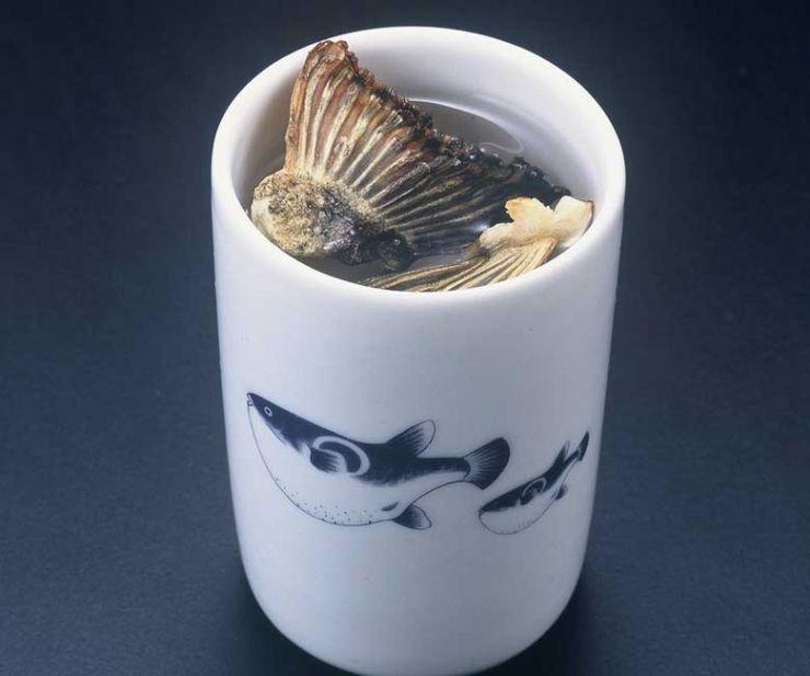 山口県 下関市のふぐの老舗 ふく処 喜多川 ふぐ一品料理 ふぐひれ酒